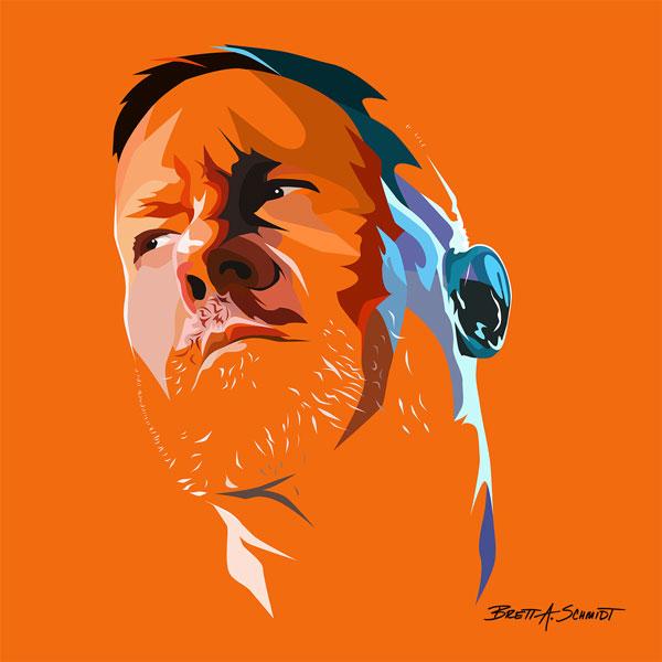 Color Art Portrait Illustration Commission